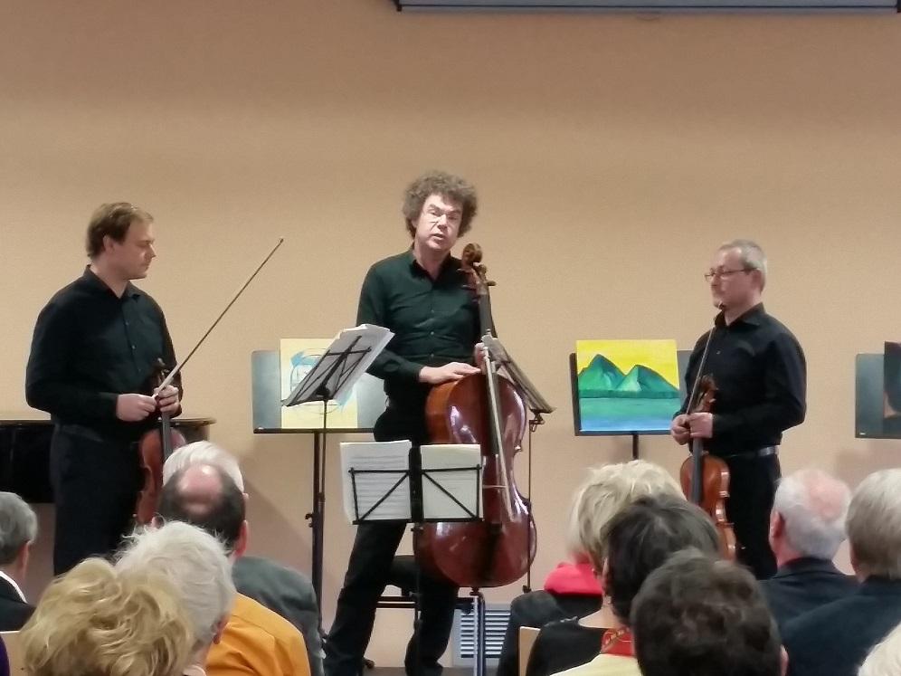 Mitglieder des Leipziger Streichquartetts